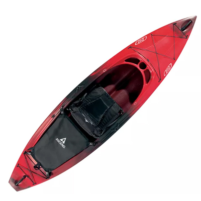 "D10-Red 9'10"" Sit in Kayak"
