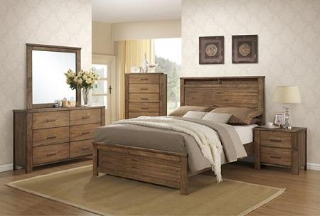 Rent Progressive Furniture Brayden Satin Mindi Queen Bedroom Set   Bedroom  Furniture Rental   RENT 2 OWN