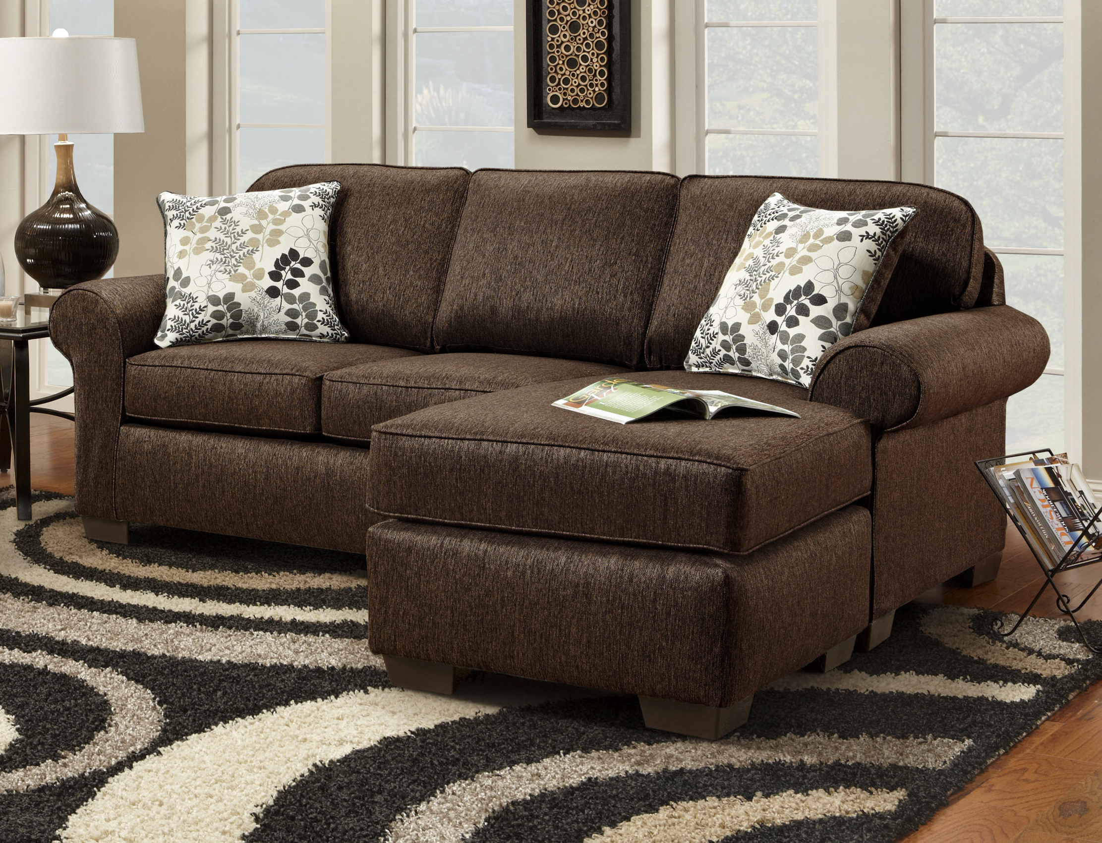 American Wholesale Furniture Elizabeth Sofa With Chaise