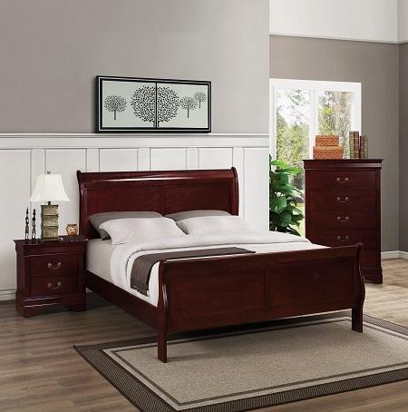 rent 193 bernards cherry finish bedroom bedroom furniture rental rh r2o com