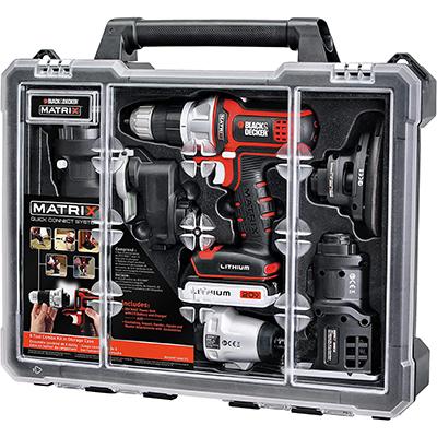 Black & Decker 6-Tool Combo Kit w/ Case