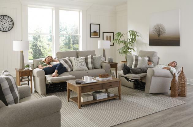 Westport Metal Motion Sofa & Recliner