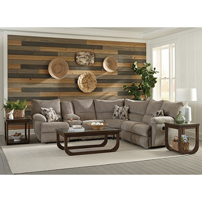 Catnapper Elliot Pewter Reclining Sectional