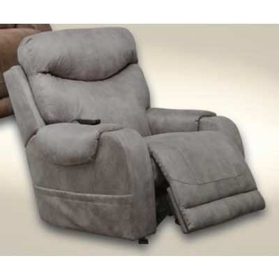 64102-2 Recharger Charcoal Power Recliner H & M
