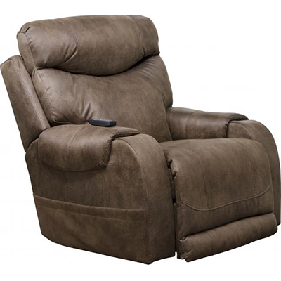 Recharger Chocolate Power Recliner H & M
