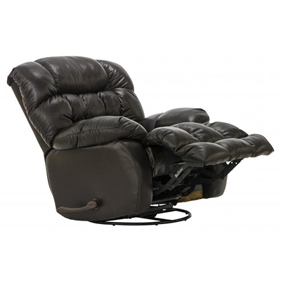 4213-5 Pendleton Chocolate Swivel Recliner