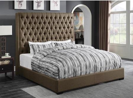 rent 300721q queen bed cappuccino bedroom furniture rental rh r2otires com
