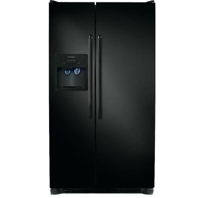 Frigidaire 26 cu. ft. Side by Side Refrigerator - Black
