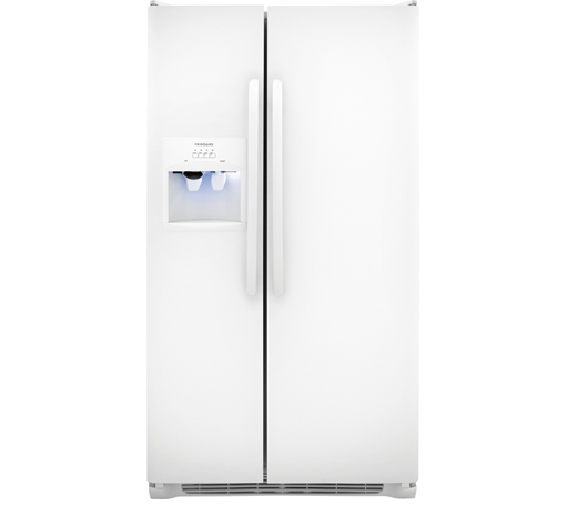 Frigidaire 26 cu. ft. Side by Side Refrigerator - White