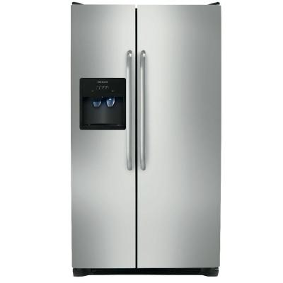 Frigidaire 26 cu. ft. Side by Side Refrigerator - Stainless Steel