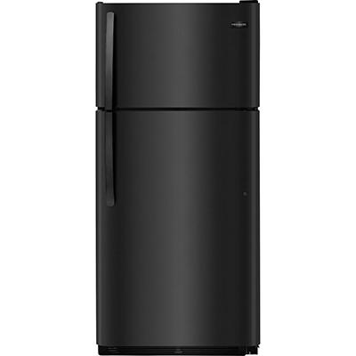 Frigidaire 18 CF Top Mount Refrigerator - Black