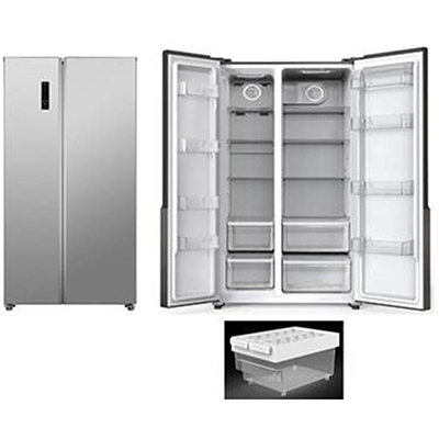 18.8 cf SidexSide Stainless Steel Refrigerator