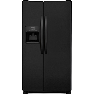 Frigidaire 22.3 CuFt SxS w/ Dispenser, Black