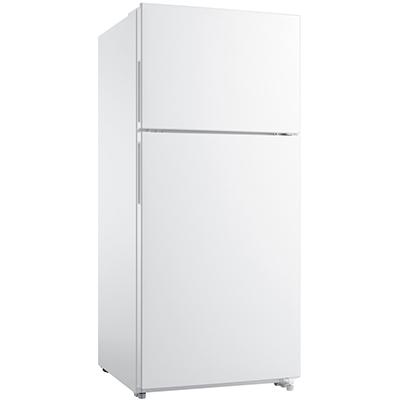 18 CF Top Mount Refrigerator White