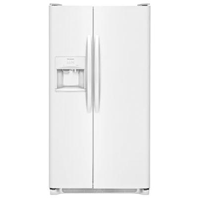 Frigidaire 25.6 Cu Ft SD SxS Refrigerator - White