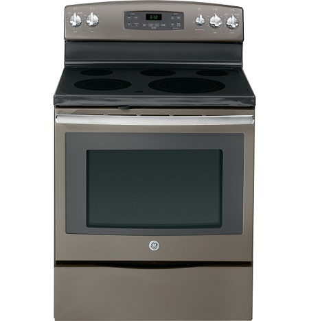 GE 5 3 cu  ft  Electric Range with Self Cleaning Oven   Slate. Appliances Rental   RENT 2 OWN