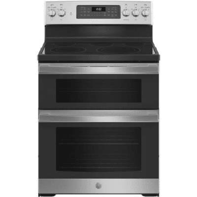 GE 4.3/3CuFt Double Oven, Stainless Steel