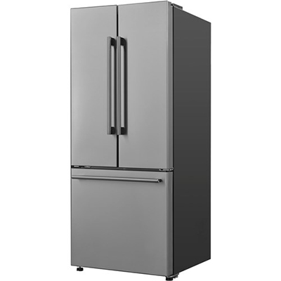 Galanz 16 CF French Door Refrigerator Stainless
