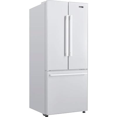 Galanz 16 CF French Door Refrigerator White