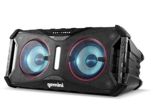 Gemini Sound Splash Floating Speaker, Black
