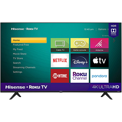 "50"" 4K UHD Roku Smart TV"