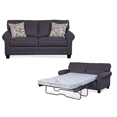 Jitterbug Grey Sofa Sleeper