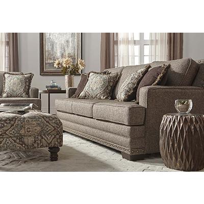 Hughes Malibu Canyon Buckhorn Sofa & Cuddler Chair