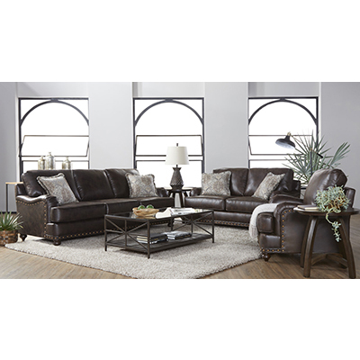 Ridgeline Brownie Sofa & Chair