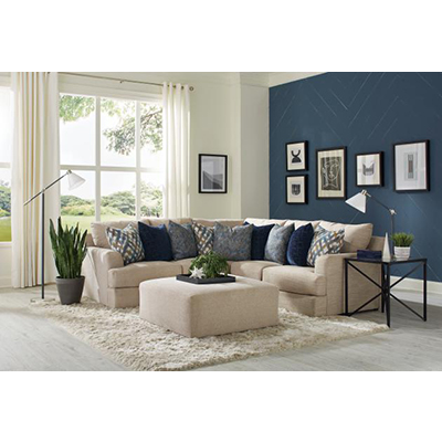 Laguna Almond 2-Piece Sectional