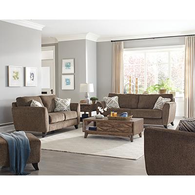 Alyssa Latte Sofa & Chair