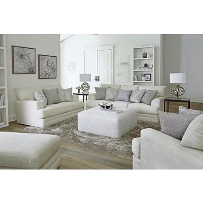 Jackson Zeller Cream Sofa & Loveseat