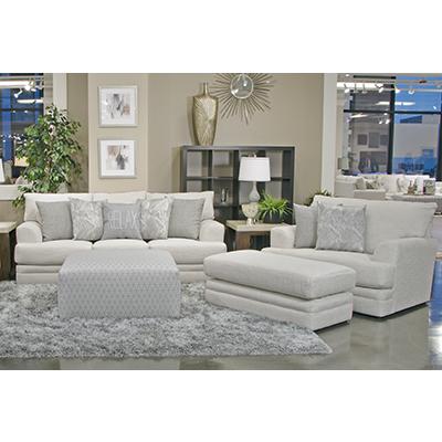 Jackson Zeller Cream Sofa & Chair-1/2