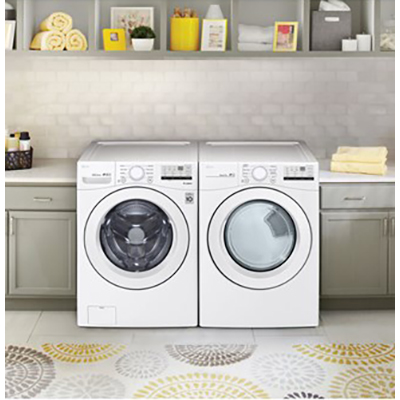 LG Ultimate Front Load Washer & Dryer, White