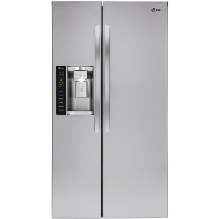 LG Side by Side Refrigerator-Stainless Steel