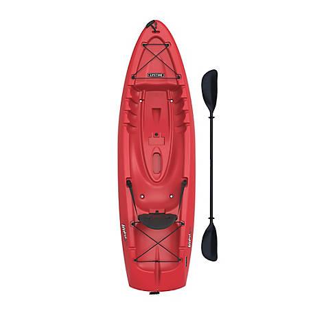 Hydros 85 Sit-on Kayak, Red