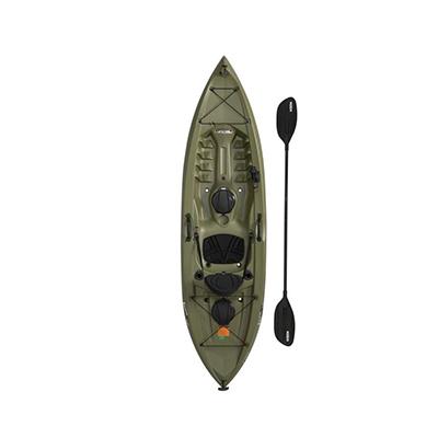 10Ft Angler Fishing Kayak, Olive