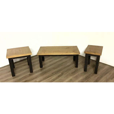Midnight Black 3 Pack Tables