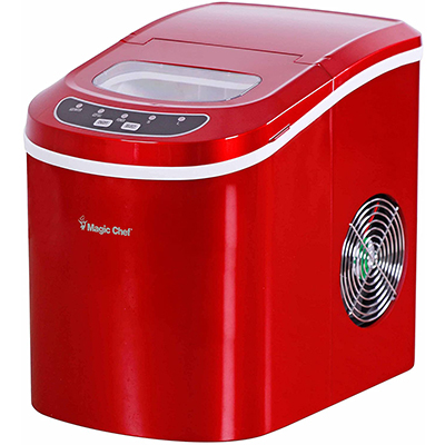 Counter Top Ice Maker, Red