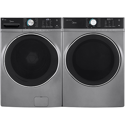 Midea Ultimate Front Load Washer & Dryer, Graphite