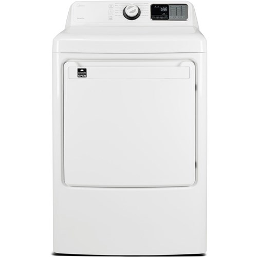 Midea Best Gas Dryer 7.5 CF, White