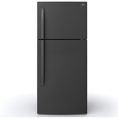 Midea | 18 CF Top Mount Refrigerator - Black
