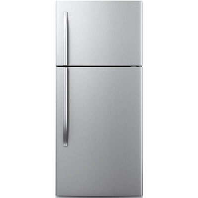 18 CF Top Mount Refrigerator - Stainless