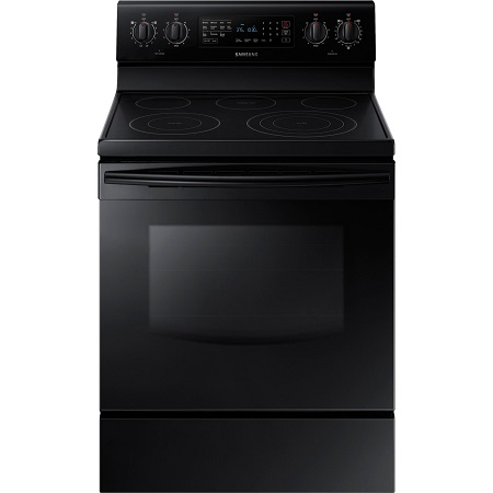 Samsung 5.9 cu. ft. Electric Range with Self-Clean Oven-Black