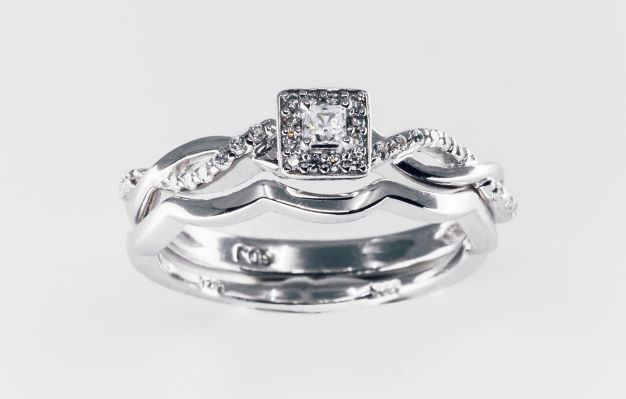 Rent Diamond Bridal Set 10k 1 4cttw Wishbook 2019 More Nice