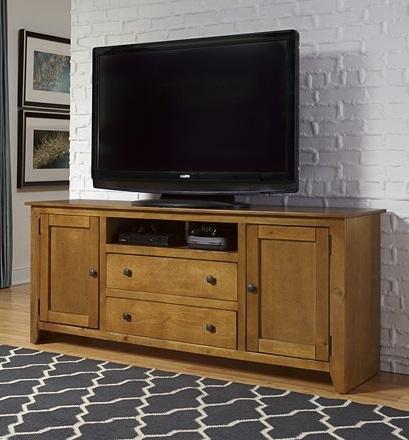 "Progressive Furniture Rio Bravo 68"" TV Stand - Medium Pine"