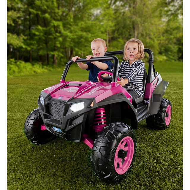 Rent Peg Perego Polaris RZR 900 Pink 12V | Outdoor More Nice Stuff ...