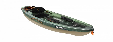 Rent Pelican 10 Ft Sit On Angler Fishing Kayak-with Fishing