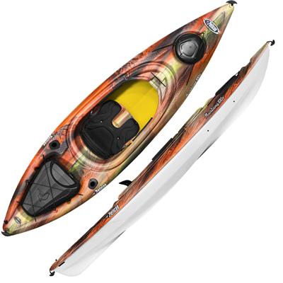 10ft Sit in Kayak, Fusion Orange