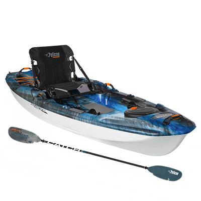 10Ft Angler Kayak with Paddle