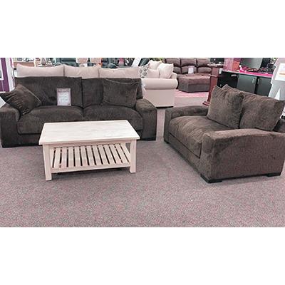 Big Chill Chocolate Sofa & Chair-1/2